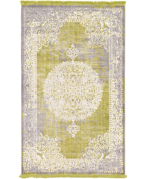 Bridgeport Home Norston Nor4 Light Green Area Rug Collection