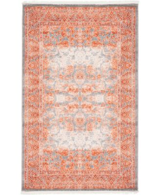 Norston Nor3 Terracotta 5' x 8' Area Rug