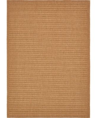 Pashio Pas6 Light Brown 4' x 6' Area Rug