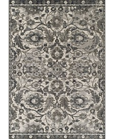 D Style Logan Lo7 Pewter Area Rugs Collection