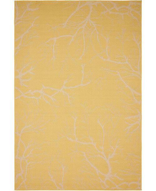 Bridgeport Home Pashio Pas6 Yellow Area Rug Collection