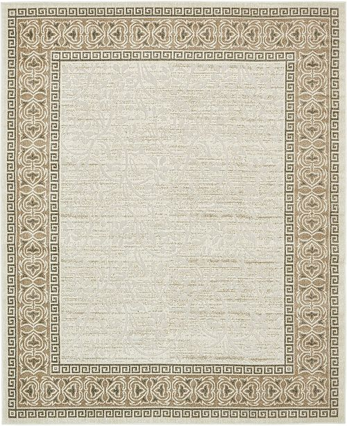 Bridgeport Home Pashio Pas3 Ivory Area Rug Collection