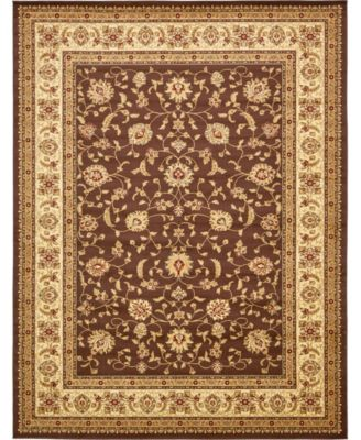 Passage Psg4 Brown 10' x 10' Square Area Rug