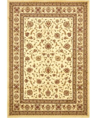 Passage Psg4 Ivory 10' x 10' Square Area Rug