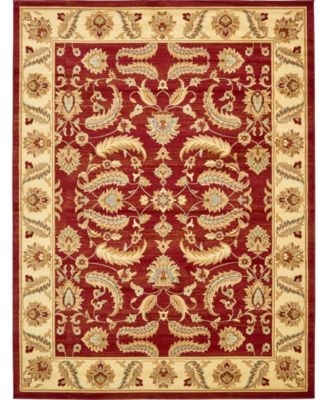 Passage Psg1 Red 5' x 8' Area Rug