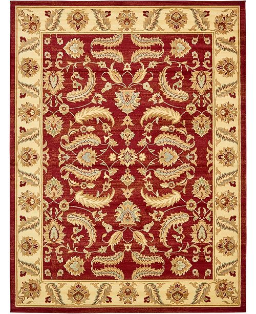 Bridgeport Home Passage Psg1 Red Area Rug Collection