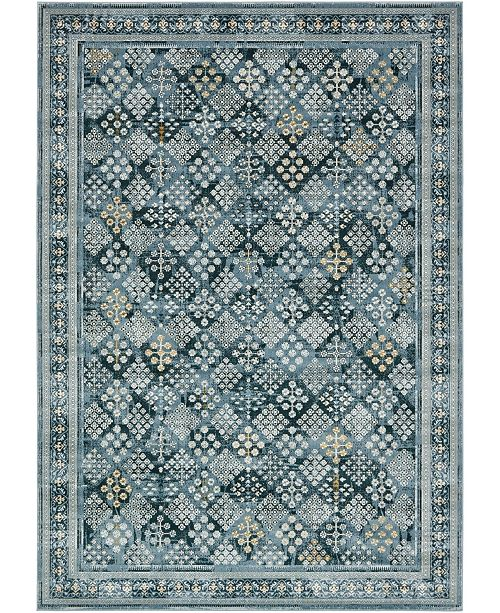 Bridgeport Home Reese Ree6 Dark Blue Area Rug Collection