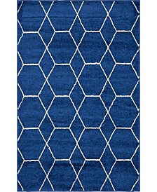 Plexity Plx1 Navy Blue Area Rug Collection