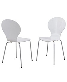 Brandon Bentwood Dining Chair (Set of 2), Quick Ship