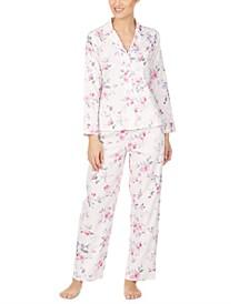 Cotton Woven Printed Pajamas Set
