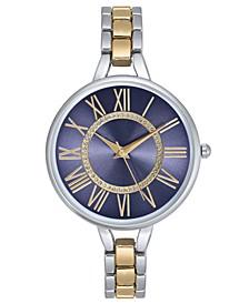 Women's Two-Tone Bracelet Watch 38mm, Created For Macy's