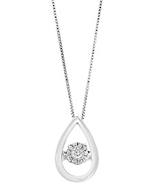 EFFY Diamond Pendant (1/5 ct. t.w.) in Sterling Silver