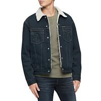 Calvin Klein Jeans Men's Iconic Omega Sherpa Denim Jacket Deals