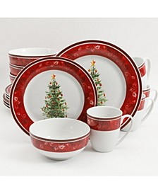 Noel Nostalgia 16-pc Dinnerware Set