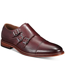 Men's Jagger Triple-Monk Strap Shoes, Created for Macy's