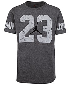 Big Boys 23 Speckle-Print T-Shirt