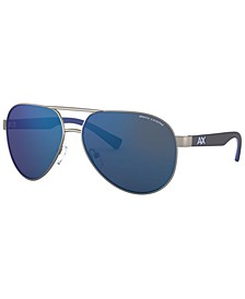 Armani Exchange Men's Sunglasses, AX2031S