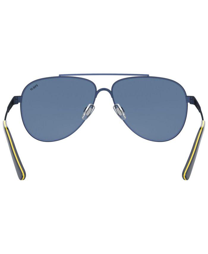 Polo Ralph Lauren Men's Sunglasses, PH3126 & Reviews - Sunglasses by Sunglass Hut - Men - Macy's