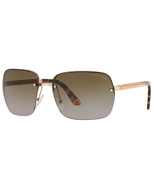 Prada Men's Polarized Sunglasses