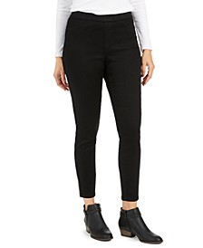 Petite Fleece-Lined Skinny Jeggings, Created For Macy's