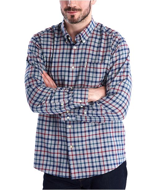 Barbour Men's Thermo-tech Lund Plaid Shirt