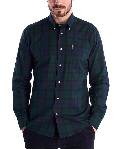 Barbour Men's Wetheram Plaid Shirt