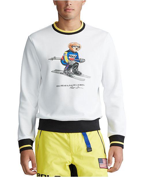Polo Ralph Lauren Men's Big & Tall Ski Bear Sweatshirt