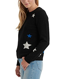 Star-Print Sweater