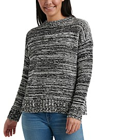 Marled Pull Over Sweater