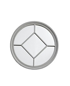 Martha Stewart Homestead Round Accent Mirror