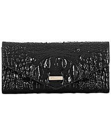 Veronica Melbourne Embossed Leather Wallet