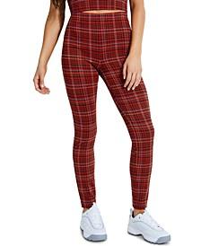 Kaveri Plaid Skinny Pants