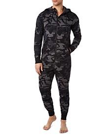Men's Camo Pajama Jumpsuit