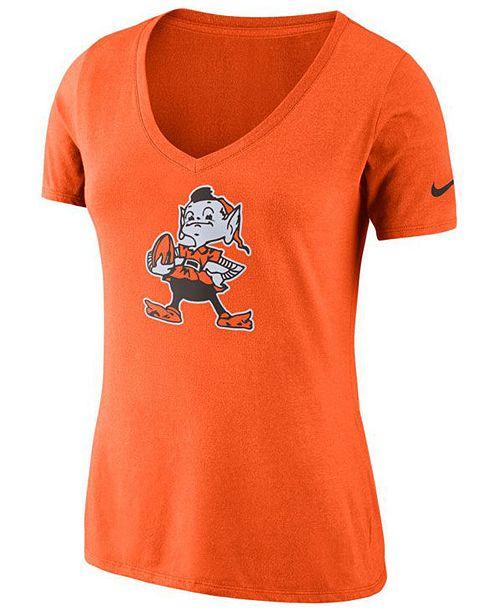 Nike Women's Cleveland Browns Historic Logo T-Shirt