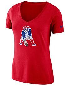 Women's New England Patriots Historic Logo T-Shirt
