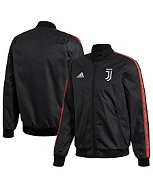 Men's Juventus Club Soccer Team Anthem Zip-Up Jacket