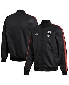 adidas Men's Juventus Club Soccer Team Anthem Zip-Up Jacket