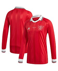 Men's Manchester United Club Team Icon Long Sleeve T-Shirt