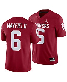 Men's Baker Mayfield Oklahoma Sooners Player Game Jersey