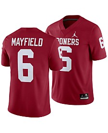 Nike Men's Baker Mayfield Oklahoma Sooners Player Game Jersey