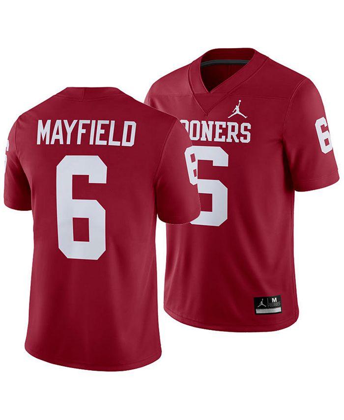 ncaa baker mayfield jersey