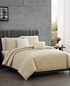 Crackle 6-Pc. Queen Duvet Cover Set