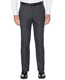 Portfolio Men's Extra Slim-Fit Stretch Heathered Pattern Dress Pants
