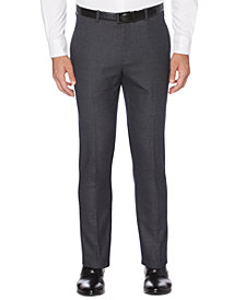 Perry Ellis Portfolio Men's Extra Slim-Fit Stretch Heathered Pattern Dress Pants