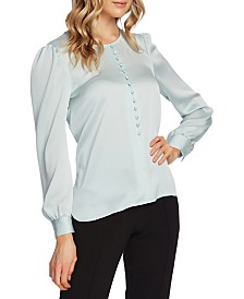 Vince Camuto Puff-Sleeve Blouse