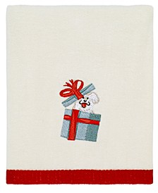 Holiday Dogs Hand Towel