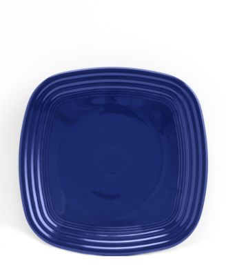 Cobalt Square Luncheon Plate
