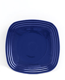Fiesta Cobalt Square Luncheon Plate
