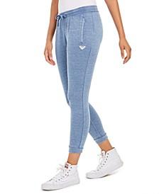 Juniors' Skinny Fleece Pants