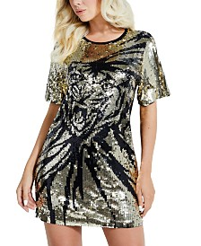 GUESS Sequin Tiger Dress